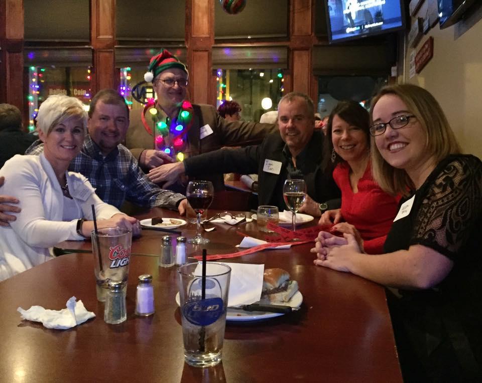 2016 Holiday Mixer Sandy, Ian, Jim Carter, Martins