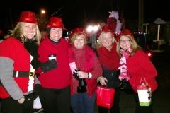 2016 Holiday Parade Wood Road teachers