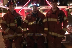 2016 Holiday Parade firefighters