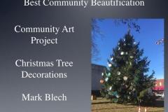 2018 Community tree