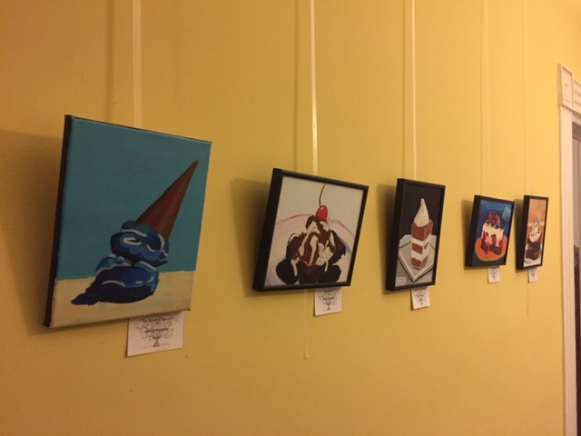2018 Choc Fest Paintings at Creative Endeavors