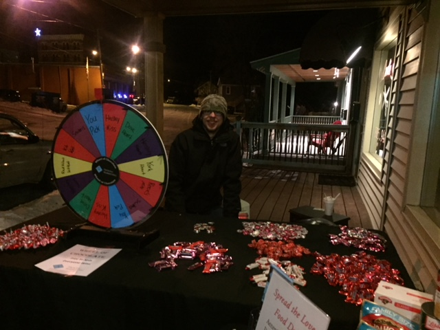 2018 Choc Fest Wheel of Chocolate