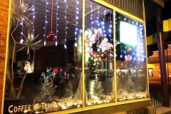 2018 Holiday windows Coffee Planet 1
