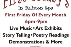 First Fridays in Ballston Spa
