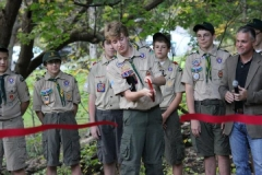 Iron Spring Stage Eagle Scout Tyler Loewenstein's community project
