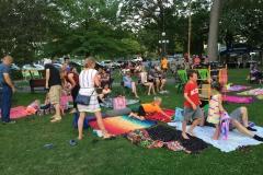 2016 August park crowd