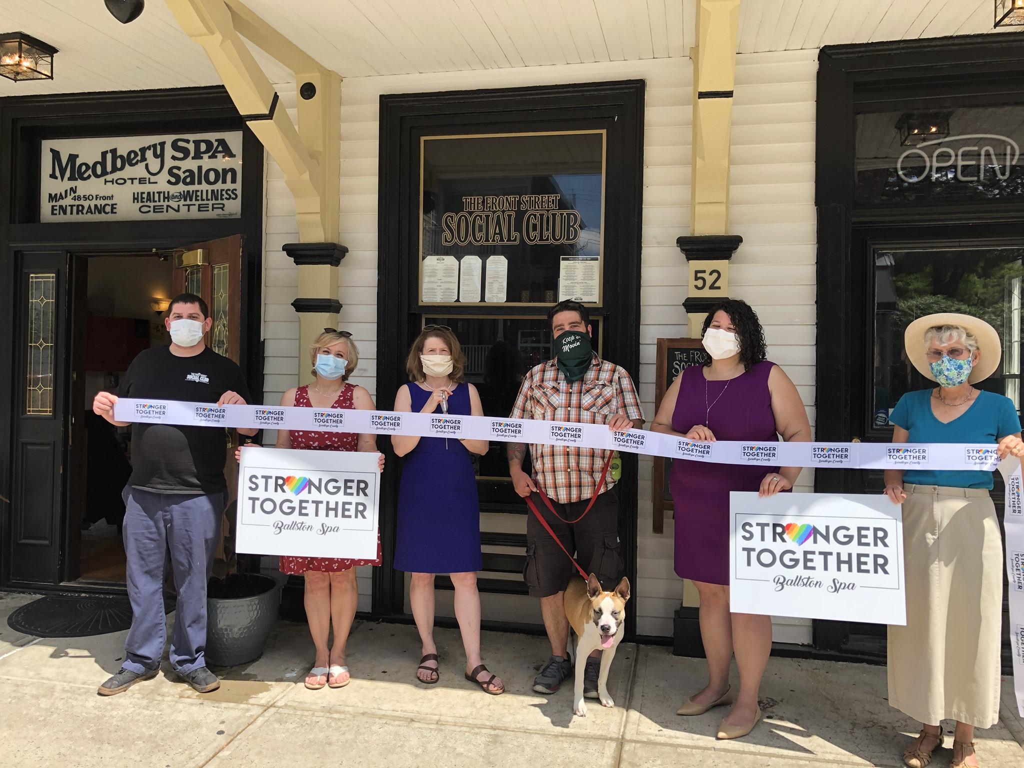 Chamber-reopening-ribbon-cutting
