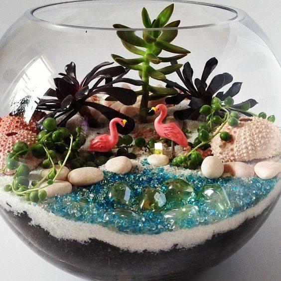 Plant & Sip: It's a Luau! Beach Themed Terrarium - Ballston Spa Business &  Professional Association